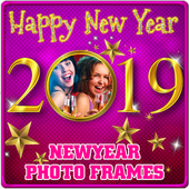 New Year Photo Frames 2019 simgesi