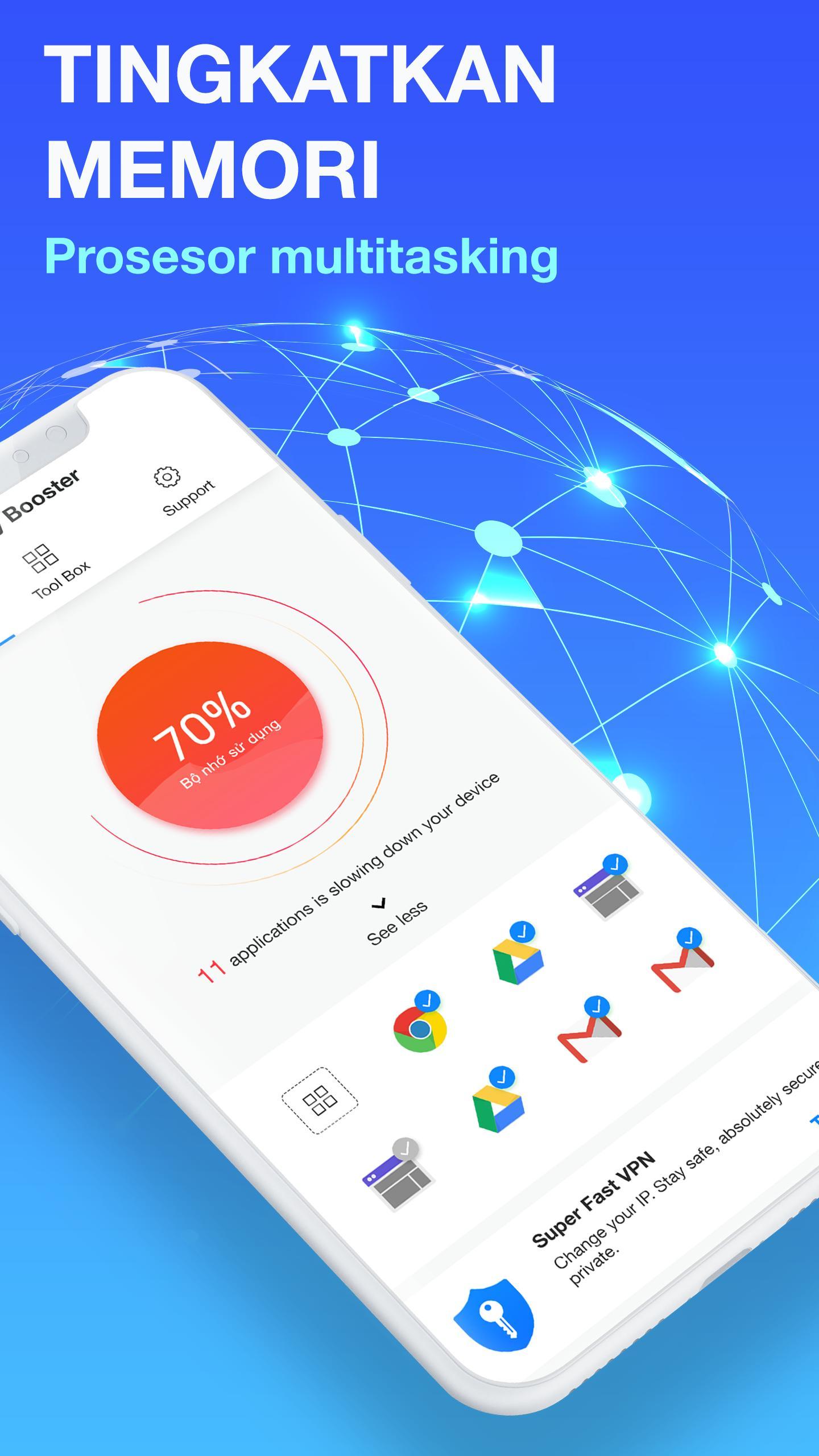 Penambah Ram Memori Dan Pembersih Sampah 2019 For Android Apk Download