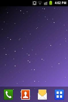 Starfield Live Wallpaper LITE screenshot 1