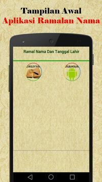 Ramalan Nama poster