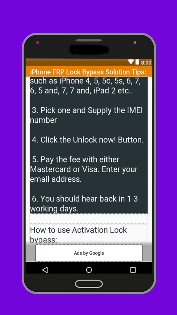 10 Mobile FRP Lock Bypass Solution Tips for Android - APK