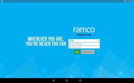 3 Schermata Ramco Mobile Hub