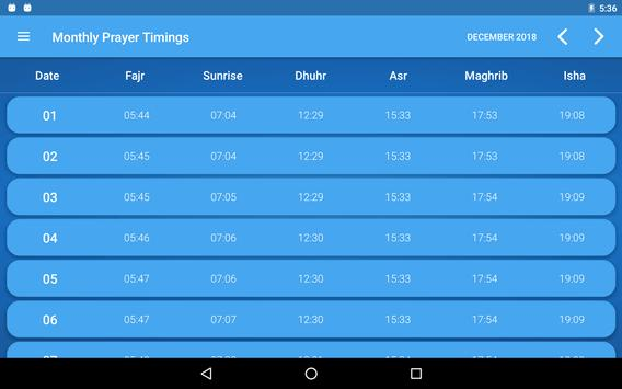 Ramadan Times: Muslim Prayers, Duas, Azan & Qibla for