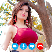 Hot Indian Girls Video Chat - Random Video chat icon