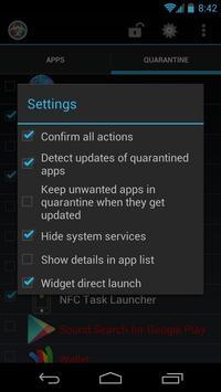 App Quarantine screenshot 2