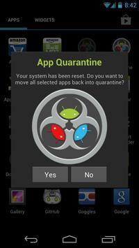 App Quarantine screenshot 3