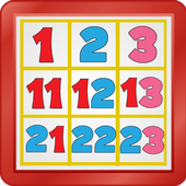 Kids Counting Hundred Chart icon