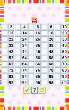 Kids Counting Hundred Chart screenshot 11