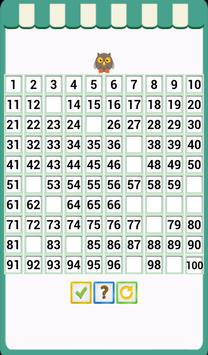 Kids Counting Hundred Chart screenshot 20