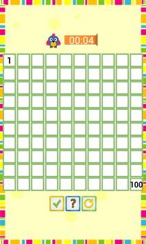 Kids Counting Hundred Chart screenshot 2