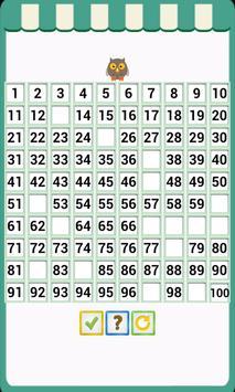Kids Counting Hundred Chart screenshot 4