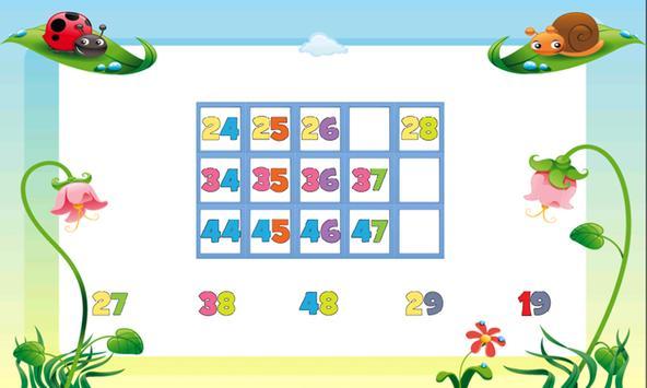Kids Counting Hundred Chart screenshot 7