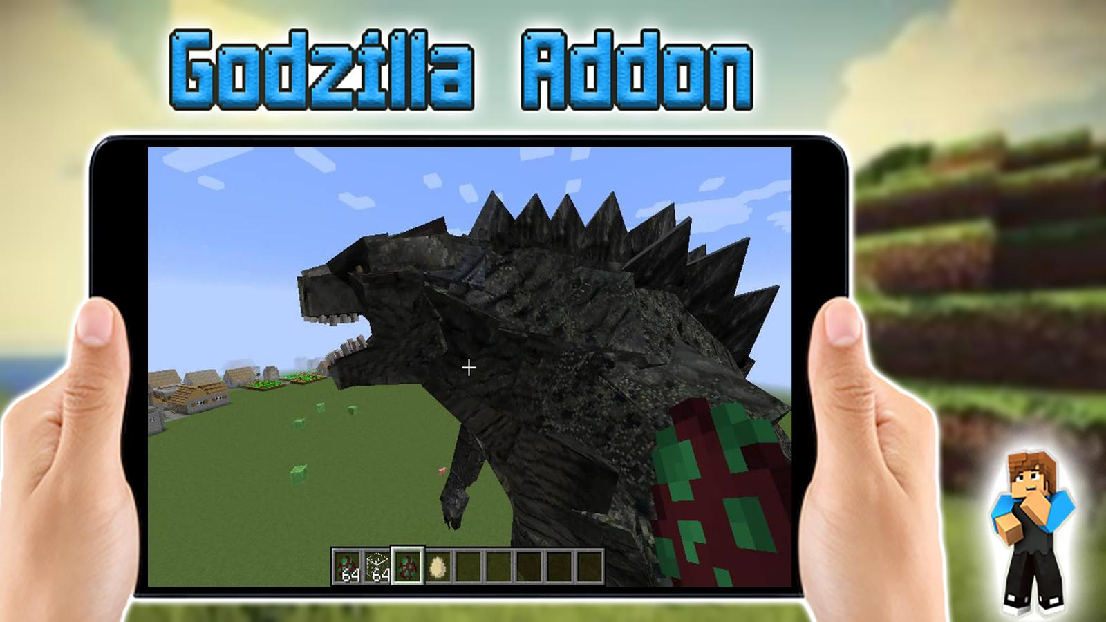 Godzilla Mod for Minecraft PE for Android APK Download