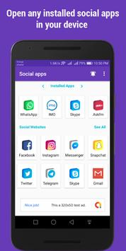 Social apps ( social media networks and apps ) Poster
