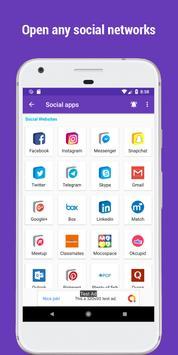 Social apps ( social media networks and apps ) captura de pantalla 1
