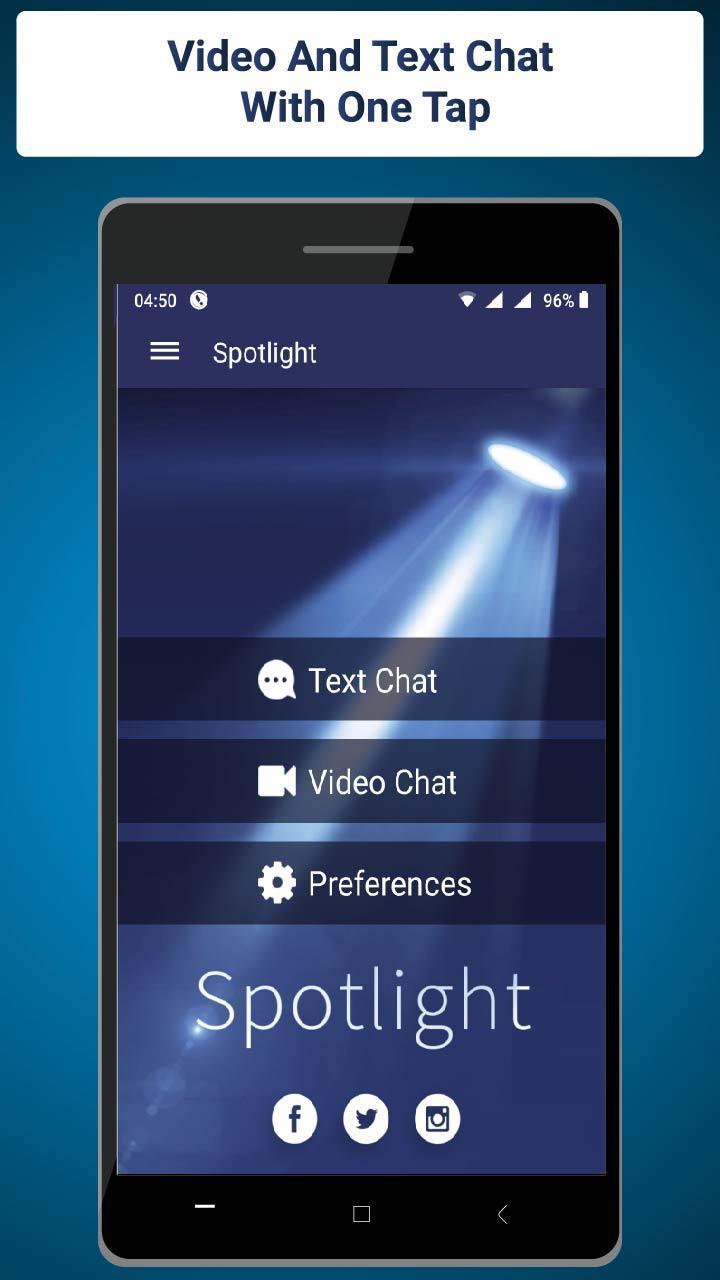Spotlight Random Chat Omegle APK 3.0.1 Download for