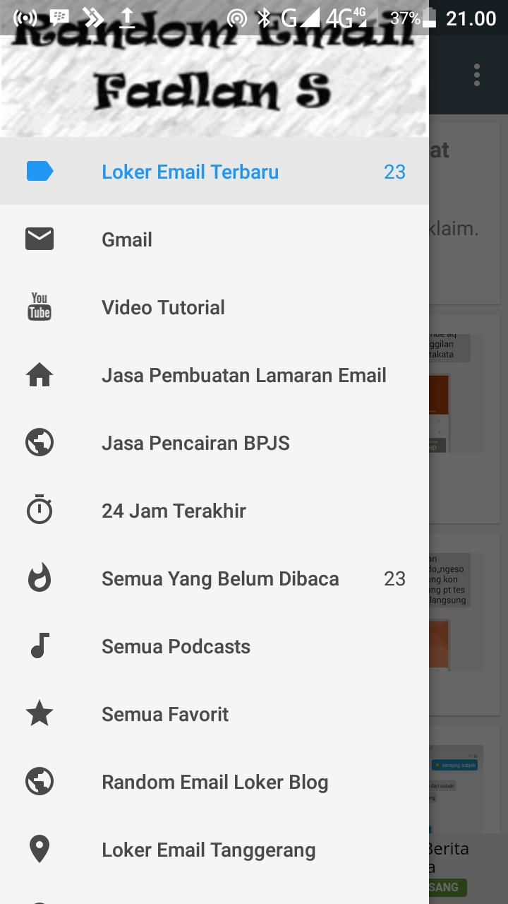 Random Email Loker For Android Apk Download