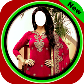 Women Salwar Photo Suit icon