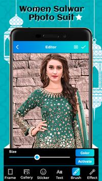 Women Salwar Photo Suit screenshot 4