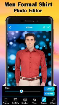 Men Formal Shirt Photo Suit Editor screenshot 4