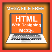HTML Webpage Designing Solved MCQs icon