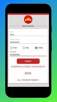 Rank Predictor - MHT CET 2019 screenshot 2