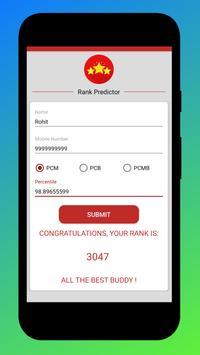 Rank Predictor - MHT CET 2019 screenshot 3