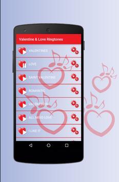 Love & Valentine Ringtones - Best Romantic Sounds screenshot 1