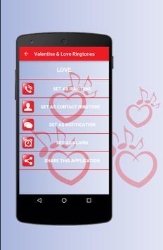 Love & Valentine Ringtones - Best Romantic Sounds screenshot 2