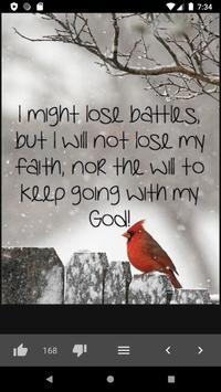 Amazing Bible Daily Quotes screenshot 5