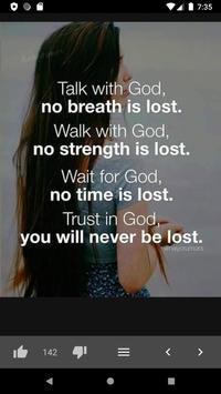 Amazing Bible Daily Quotes screenshot 6