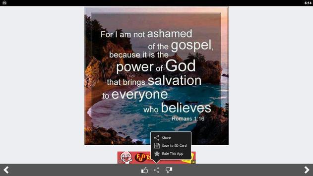 Amazing Bible Daily Quotes screenshot 9
