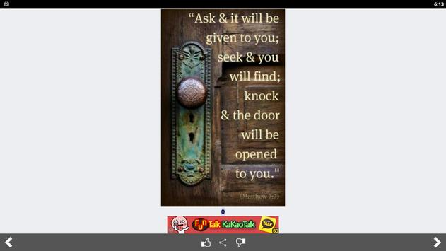 Amazing Bible Daily Quotes screenshot 10