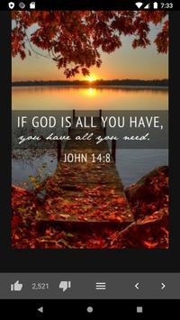 Amazing Bible Daily Quotes screenshot 3