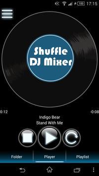 Shuffle DJ Mixer poster