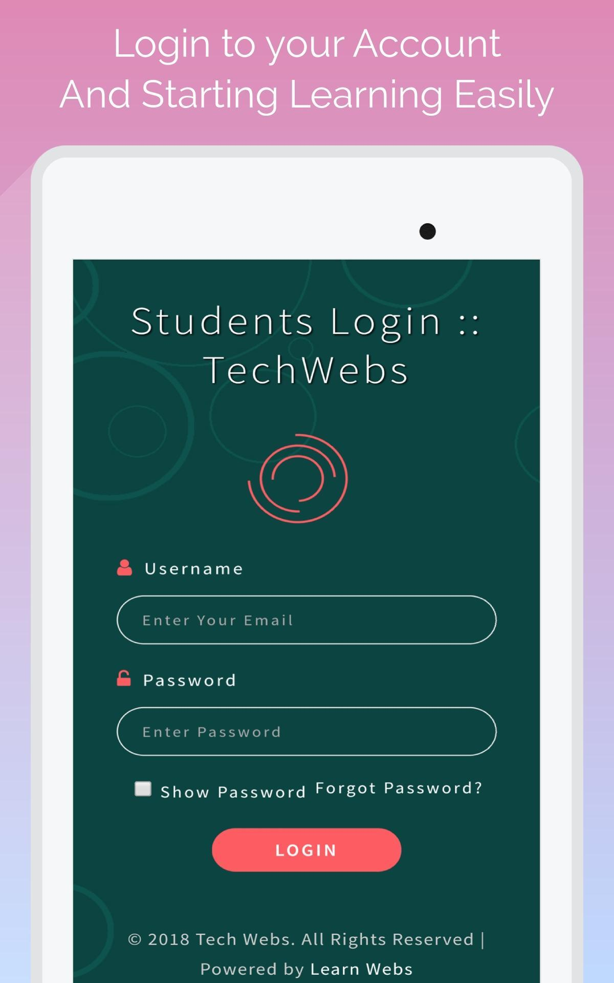 Tech Webs Learn Web Designing Easily For Android Apk Download