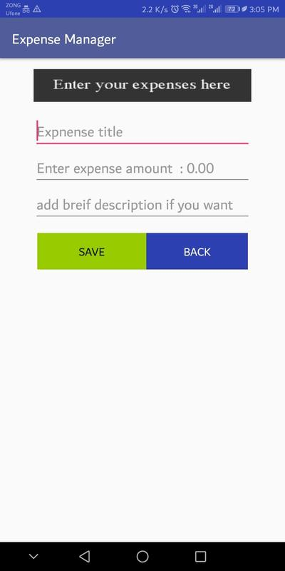 daily and monthly expense manager expense tracker for android apk