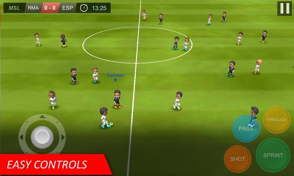 Mobile Soccer League capture d'écran 1