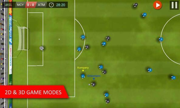 Mobile Soccer League capture d'écran 2
