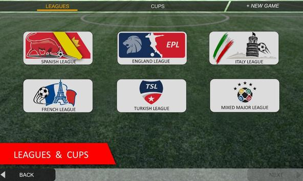 Mobile Soccer League capture d'écran 4