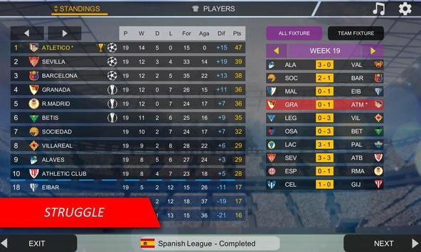 Mobile Soccer League capture d'écran 7
