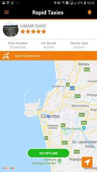 Rapid Taxis Driver screenshot 1