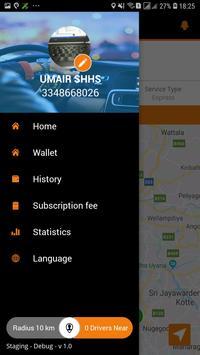 Rapid Taxis Driver screenshot 2