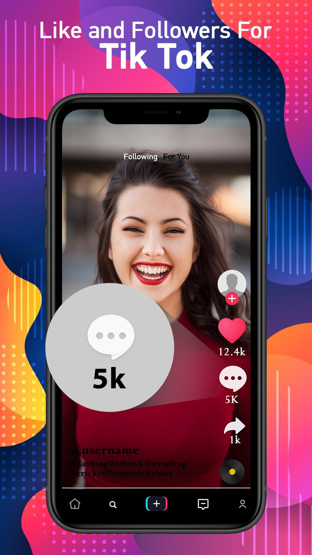 Booster For Tiktok Followers Likes Booster For Android Apk Download