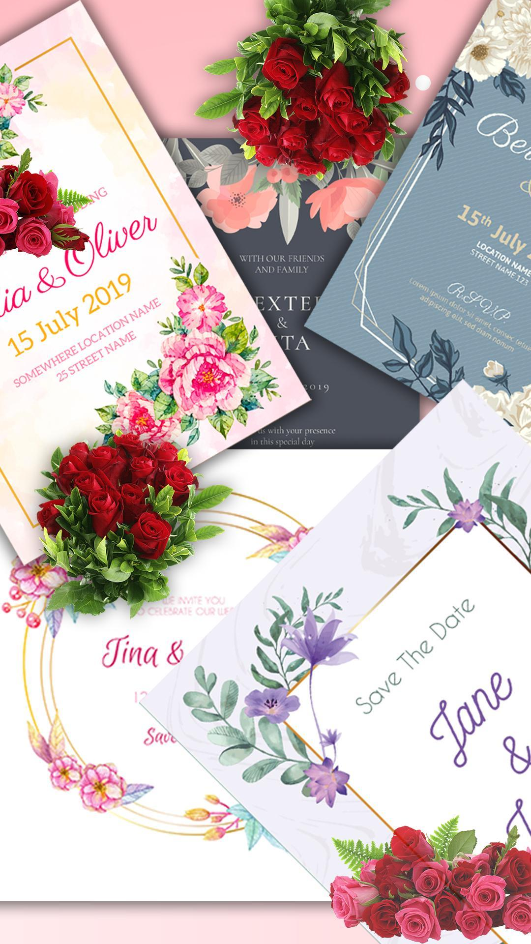 Stylish Wedding Invitation Card Maker 2019 For Android Apk