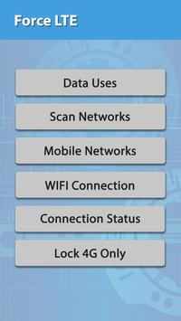 LTE Only Force 4G Network - Force LTE Only screenshot 1