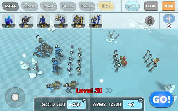 9 Schermata Epic Battle Simulator 2