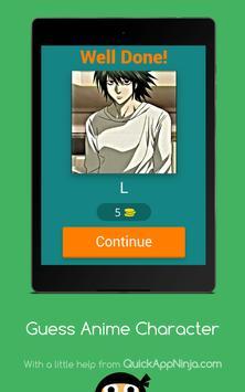 Guess Anime Character screenshot 6