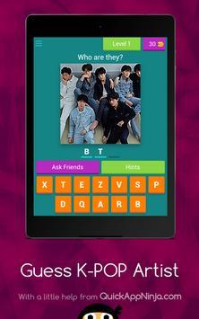 Guess K-POP Artist screenshot 12