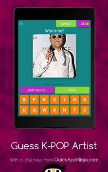 Guess K-POP Artist screenshot 14